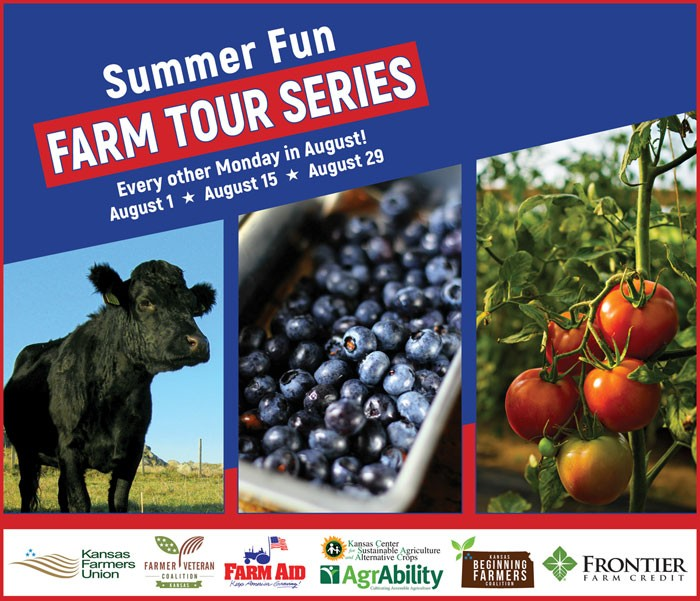 Summer Fun Farm Tour Series August 1, 15, 29