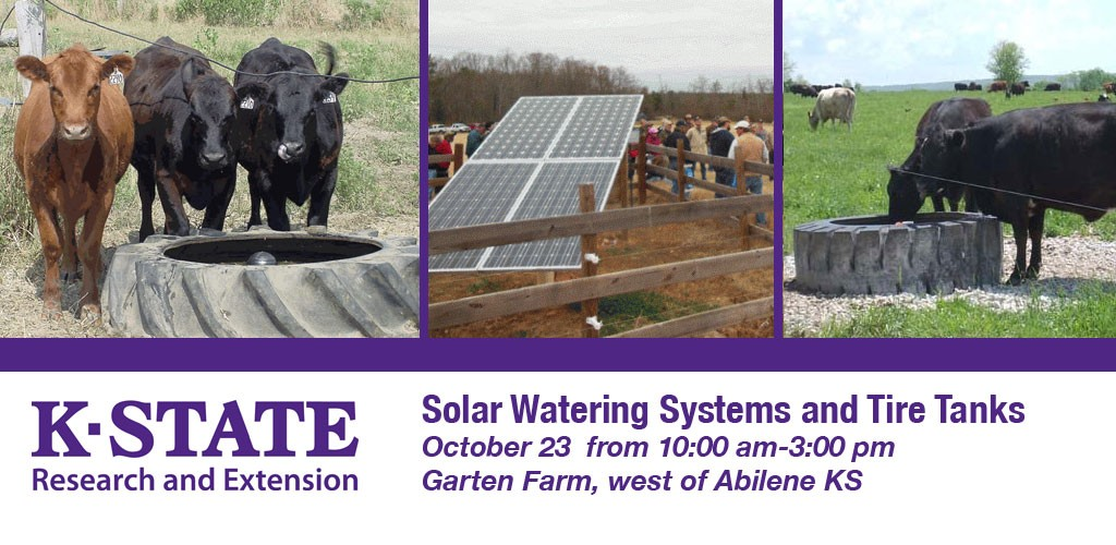 Solar Water Systems and Tire Tanks workshop