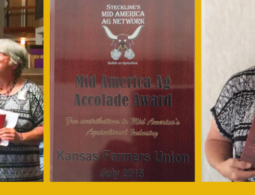 Mary Howell receives Mid America Ag Accolade Award