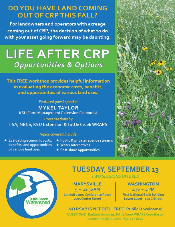 Life After CRP Workshop