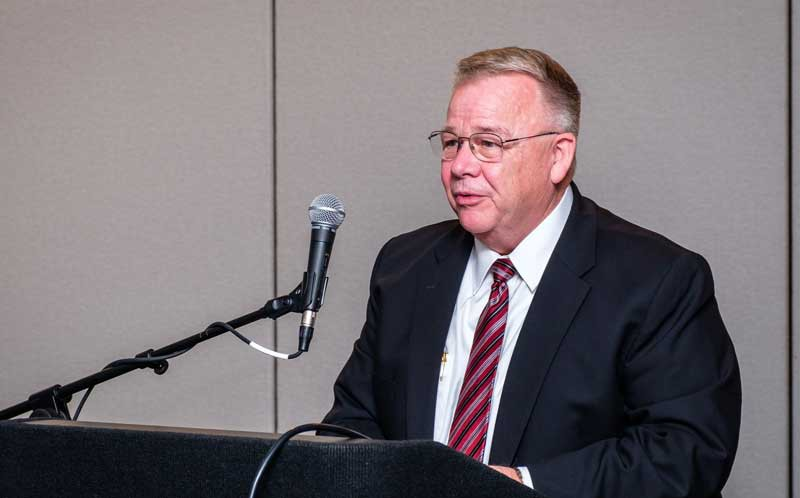 Larry Mitchell is Administrator of the USDA GIPSA.