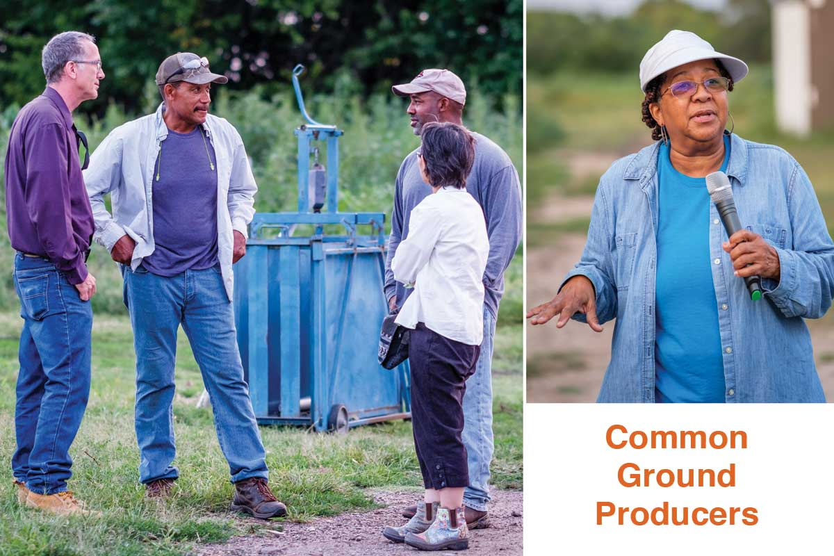 Donna McClish of Common Ground Producers, which delivers fresh organic produce to 29 senior centers.