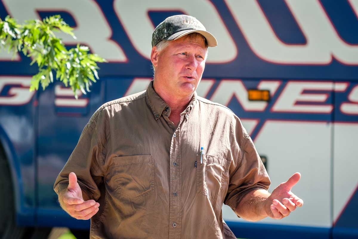 David Nees is known for his great weed control, his ability to creatively use modern equipment efficiently in an organic operation, and for his decades long focus on developing healthy soils.