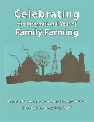 2013 Convention Cover: Celebrating the Internation Year of Family Farming