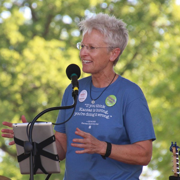 Marci Penner is the executive director of the Inman-based Kansas Sampler Foundation, and author, speaker, promoter and supporter of rural Kansas.