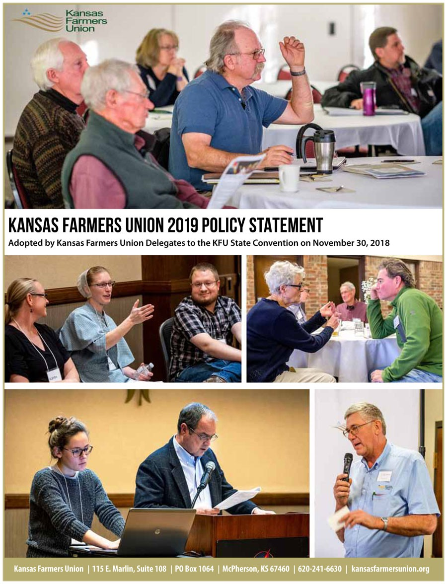 Download the 2019 KFU Policy Statement