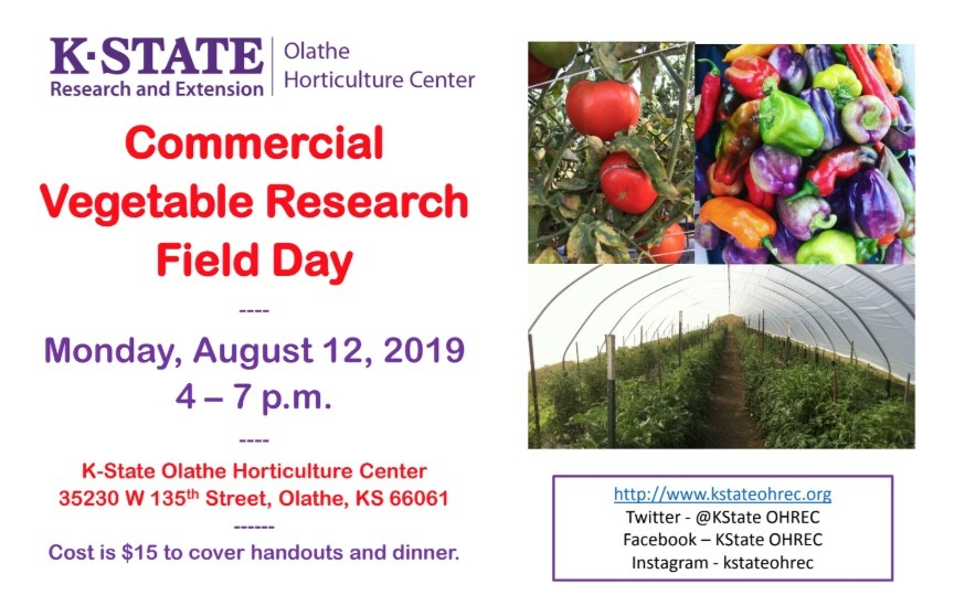 Commercial Vegetable Research Field Day
