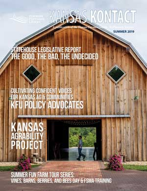Cover of the Summer 2019 Kansas Kontact
