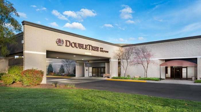 Exterior image of Lawrence DoubleTree by Hilton