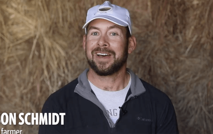 Jason Schmidt, a dairy farmer who lives outside of Newton, Kansas, considers himself a progressive farmer. He wants the Biden administration to reward farmers based on how much carbon they are storing in the soil.