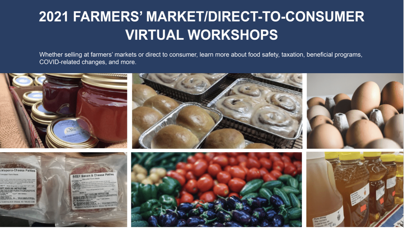 Kansas Farmers Market Workshops