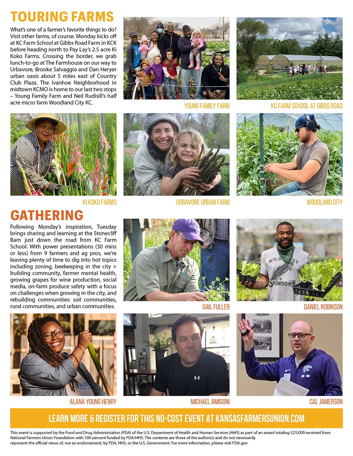 GROWING CONNECTIONS: Fall Farm and Food Conference