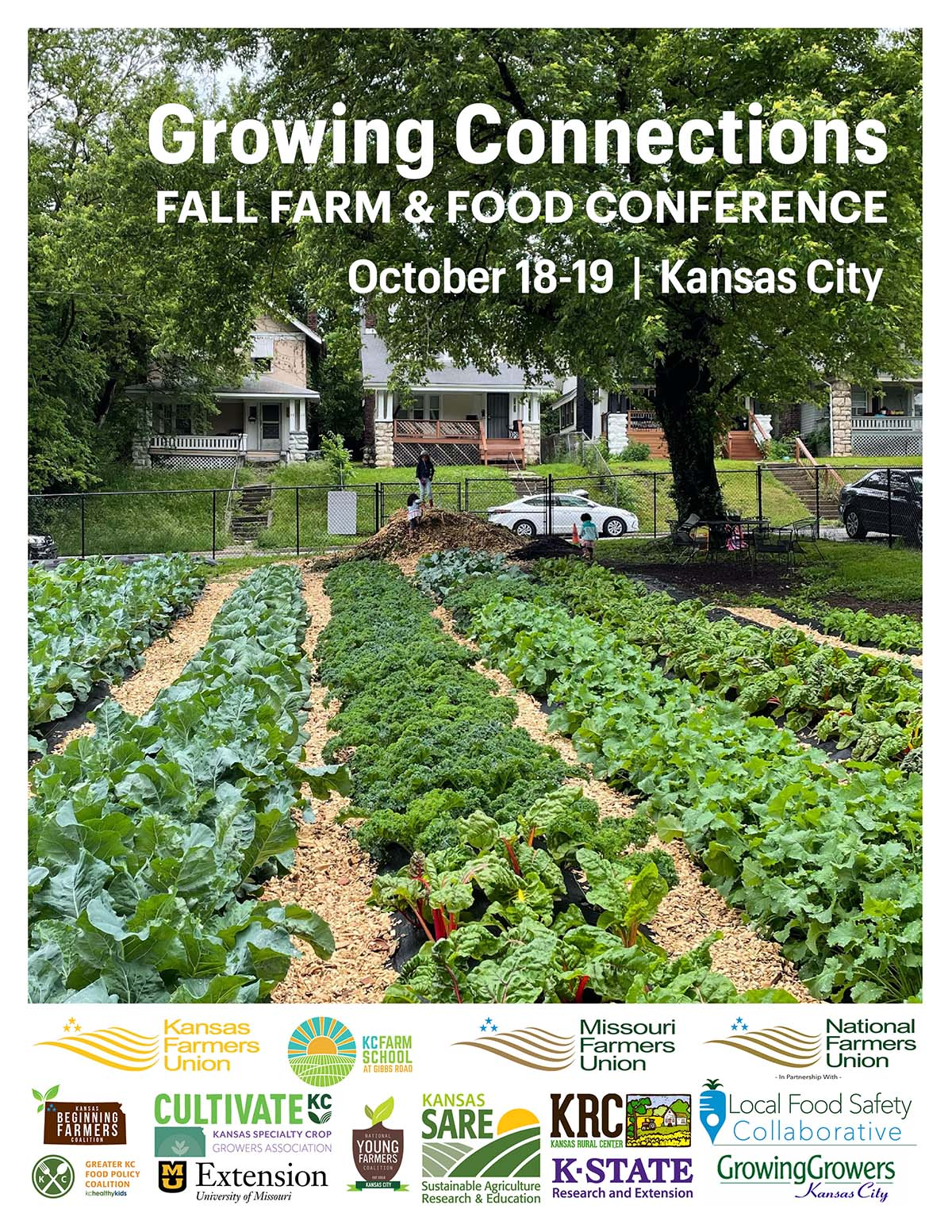 Two-day Growing Connections: Farm and Food Conference on October 18 and 19, 2021